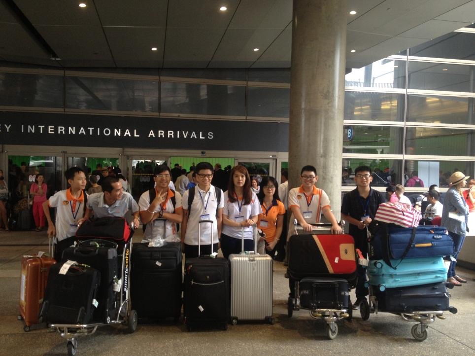 Học sinh TIS bắt đầu chuyến du học hè đến với Hoa Kỳ