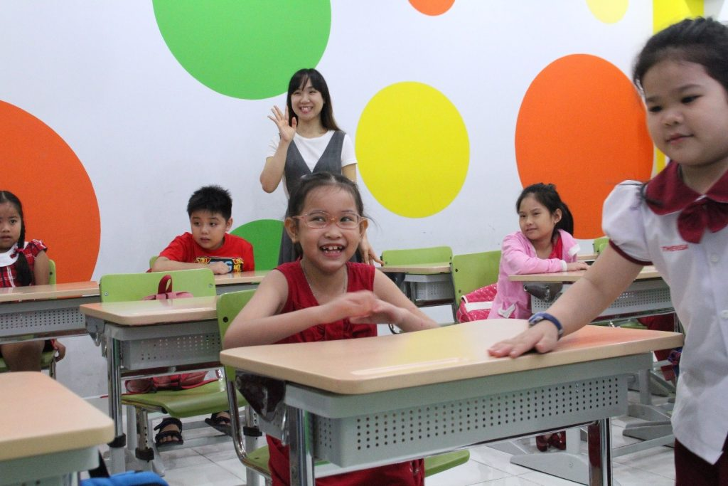 TUYỂN SINH KHÓA HỌC ENGLISH FOR CHILDREN 2016 4