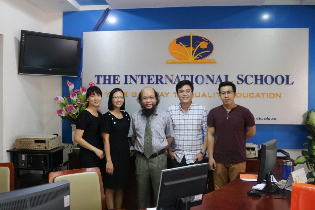 TIS đón nhiều cựu học sinh trở về trường vào dịp hè 1